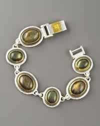 Gurhan - Multicolor Labradorite Gauntlet Bracelet - Lyst