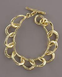 Ippolita - Metallic Glamazon Kidney Link Bracelet - Lyst