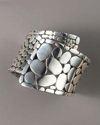 John Hardy - Metallic Kali Overlap Cuff Bracelet - Lyst