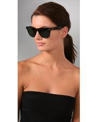 Ray-Ban - Black Outsiders Oversized Wayfarer Sunglasses - Lyst