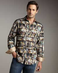 Robert Graham - Multicolor Sheppard Limited Edition Woven Shirt for Men - Lyst