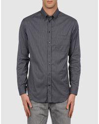 Armani | Black Shirt for Men | Lyst