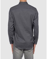 Armani - Black Shirt for Men - Lyst