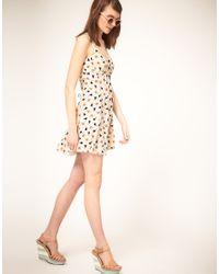 ASOS Collection - Blue Summer Dress - Lyst