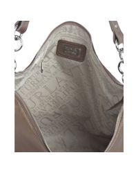 Furla - Metallic Brass Leather Carrie Studded Hobo - Lyst