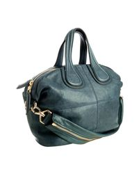 Givenchy | Blue Lambskin Nightingale Small Shoulder Tote | Lyst