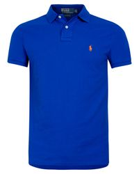 Polo Ralph Lauren | Royal Blue Polo Shirt for Men | Lyst
