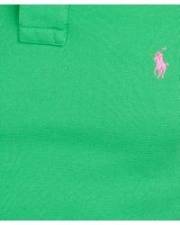 Polo Ralph Lauren   Green Polo Shirt for Men   Lyst