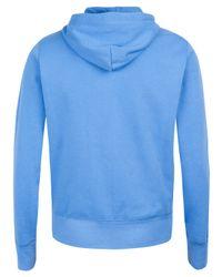 Polo Ralph Lauren - Sky Blue Zip Front Hoodie for Men - Lyst