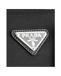 Prada - Black Nylon Laptop Travel Bag for Men - Lyst