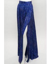 Rachel Zoe   Blue Vanessa Maxi Skirt   Lyst