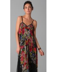 Dallin Chase | Multicolor Dani Floral Gown | Lyst