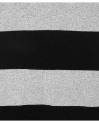Madeleine Thompson | Silver and Black Stripe Maxi Jumper Dress | Lyst