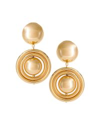 ASOS Collection | Metallic Asos Bauble Interlink Circle Drop Earrings | Lyst