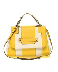 ASOS Collection - Yellow Asos Canvas Mix Panel Across Body Bag - Lyst