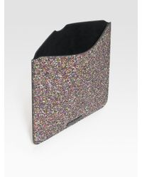 Jimmy Choo - Multicolor Glitter Case For iPad - Lyst