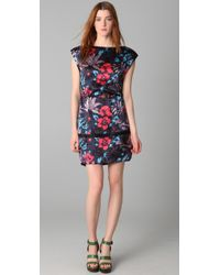 Marc By Marc Jacobs | Blue Havana Floral Dress | Lyst