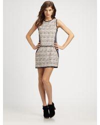 Theory - Multicolor Waldia Tweed Dress - Lyst