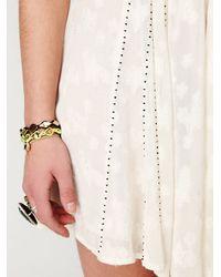 Free People | White Fp New Romantics Cat Eye Wrap Dress | Lyst