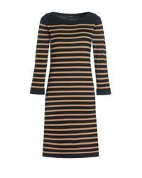 Jaeger | Black Merino Breton Stripe Sweater D | Lyst