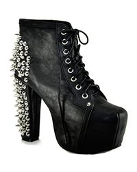 Jeffrey Campbell | Black Spike Lita | Lyst