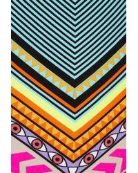 Mara Hoffman   Multicolor High Waisted Lace Up Bikini   Lyst