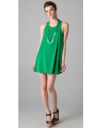 Alice + Olivia | Green Trina Tunic Dress | Lyst
