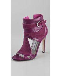 Camilla Skovgaard | Purple Tongue Stiletto Booties | Lyst