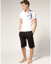 DIESEL | White Mohican T Shirt for Men | Lyst
