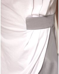 Stolen Girlfriends Club - White Draped Tee Dress - Lyst