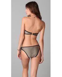 Brette Sandler Swimwear | Natural Corey Bandeau Bikini | Lyst