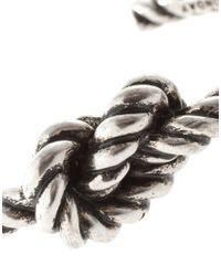 Cheap Monday | Metallic Exclusive To Asos Knot Bracelet for Men | Lyst