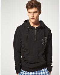 DIESEL | Black Hoodie for Men | Lyst