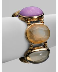 Stephen Dweck - Metallic Semi-Precious Multi-Stone Collector's Bracelet - Lyst