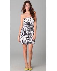 Rachel Pally - Blue Marley Mini Dress - Lyst