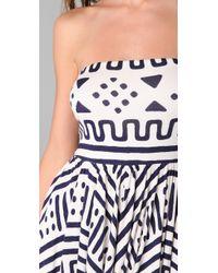 Rachel Pally | Blue Marley Mini Dress | Lyst