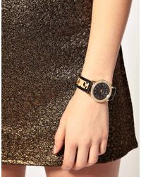 River Island - Multicolor Watch With Leopard Print Strap - Lyst