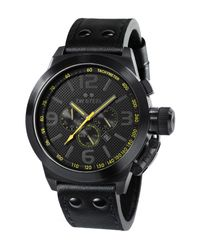 TW Steel   Cool Black Chronograph Watch for Men   Lyst