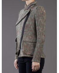 Yigal Azrouël | Gray Tweed Jacket | Lyst
