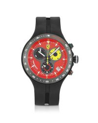Ferrari - Blue Red Jumbo Corsa 150th Anniversary Watch for Men - Lyst