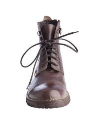 Mark Nason - Brown Leather Bleeker Lace-up Boots for Men - Lyst