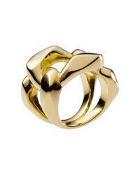 Michael Kors - Metallic Chain Ring - Lyst