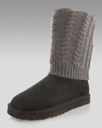 UGG | Black Tularosa Route Short Boot | Lyst