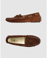 Car Shoe | Brown Loafer | Lyst