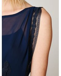 Free People | Blue Modern Day Flapper Dress | Lyst