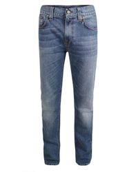 Nudie Jeans | Blue New For Ss12 - Thin Finn Mid Worn Indigo Jeans for Men | Lyst