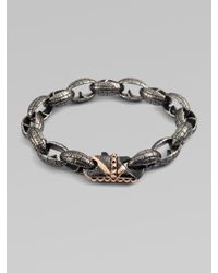 Stephen Webster | Metallic Steel Link Bracelet for Men | Lyst