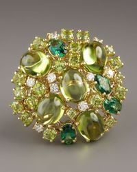 Roberto Coin | Fireworks Ring, Green | Lyst