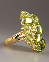 Roberto Coin - Fireworks Ring, Green - Lyst