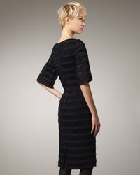 Rachel Roy - Black Lace & Ribbon Dress - Lyst